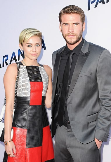 Miley Cyrus Has Lunch With Liam Hemsworth's Sister-in-Law ...