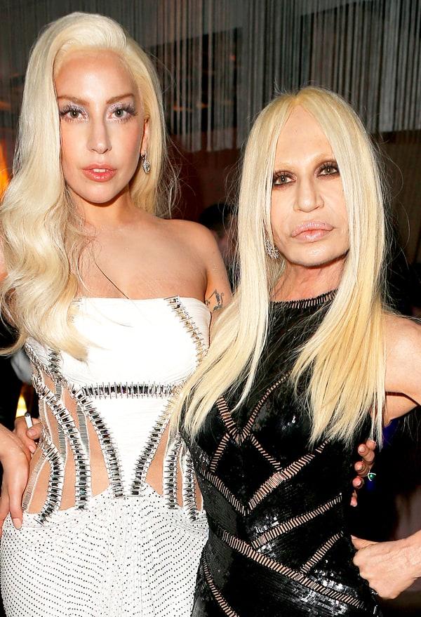 Donatella Versace Vanity Fair