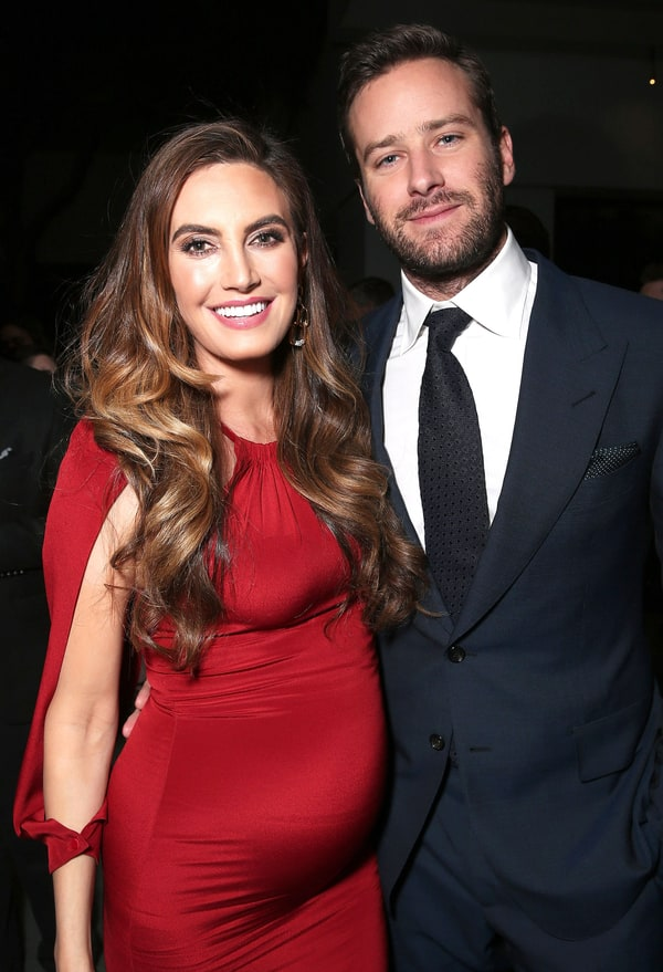 Armie Hammer, Wife Elizabeth Chambers Hammer Welcome Baby ...