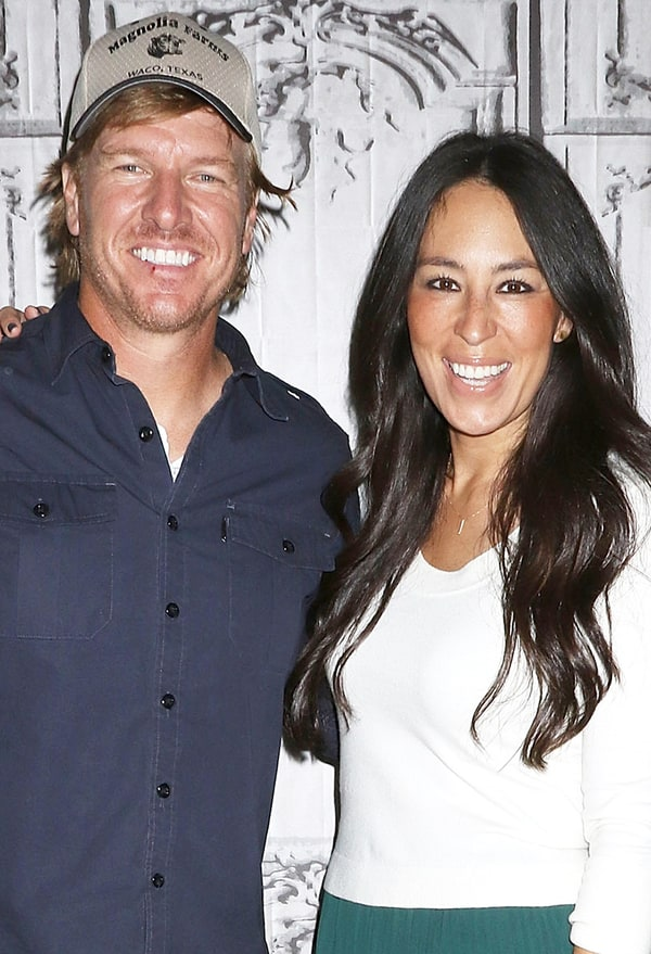 Chip gaines and joanna gaines oct 19 2016 in new york city credit