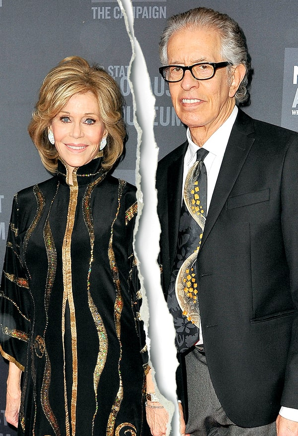 jane fonda and richard perry split after 8 years together