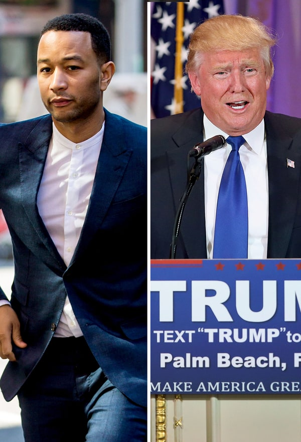 news article john legend donald trump twitter musician calls father racist