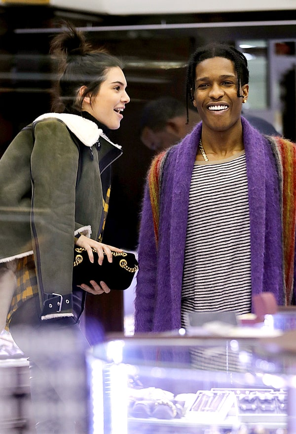 Kendall Kylie Jenner Go On Double Date With A Ap Rocky