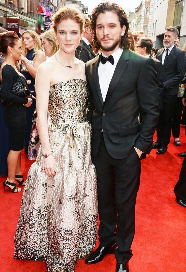 Kit Harington Recalls Falling in Love With Girlfriend Rose ...
