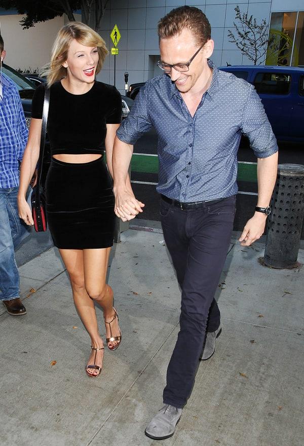 Taylor Swift, Tom Hiddleston Enjoy Dinner Date in Santa Monica