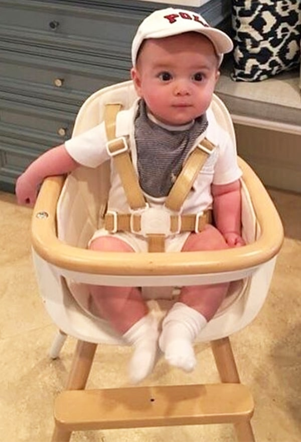 Ivanka Trump S Son Eats In A 459 High Chair Us Weekly