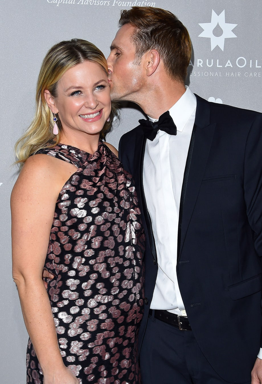Jessica Capshaw and husband