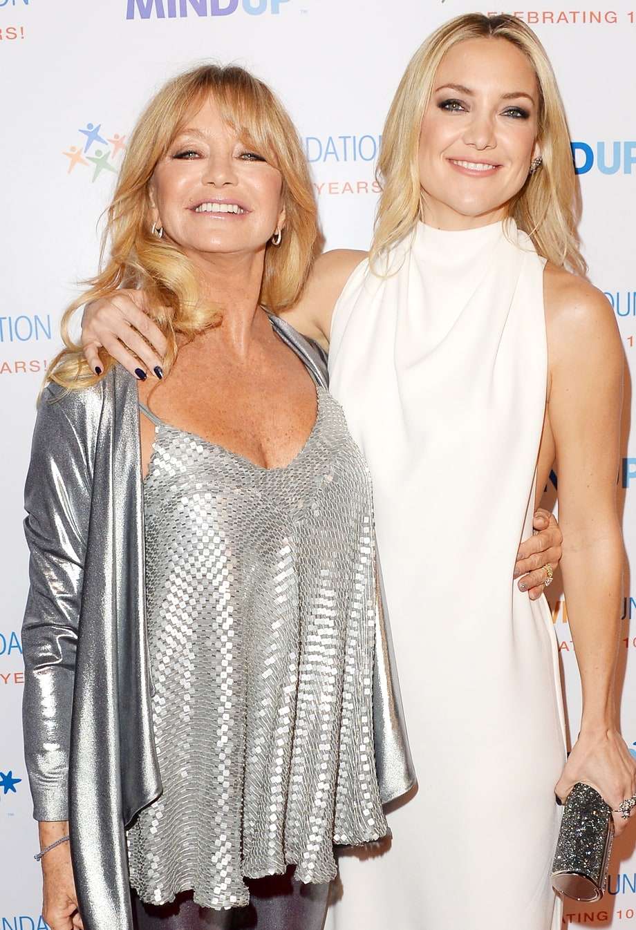 Kate Hudson and mom