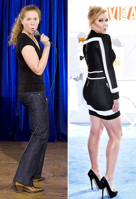 Amy Schumer in 2007 Looks Nothing Like Amy Schumer in 2016: See the Then, Now Pics