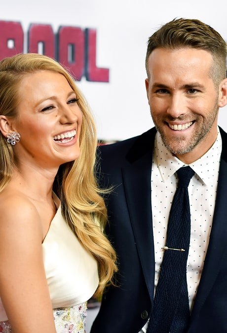 Blake Lively and Ryan Reynolds Flirt It Up on 'Deadpool' Red Carpet
