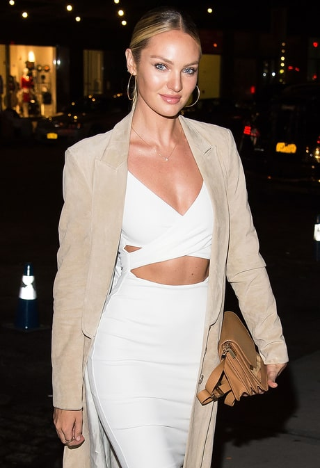 Victoria's Secret Angel Candice Swanepoel Reveals the Surprising Place She Sprays Her Perfume