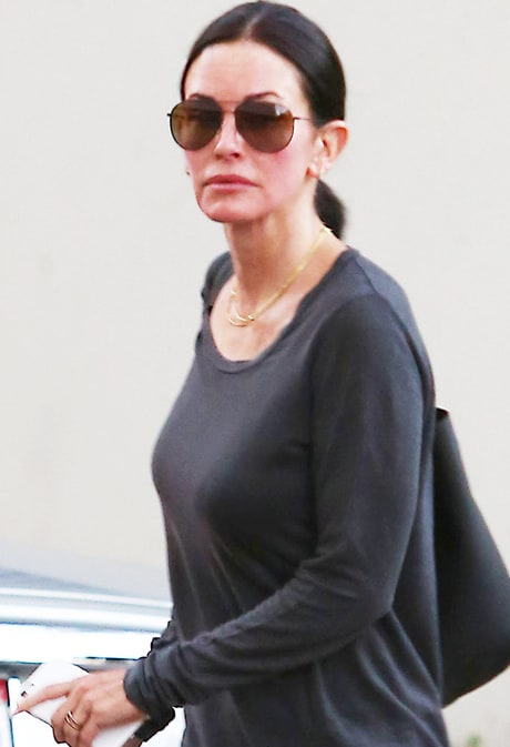 Courteney Cox Steps Out After Ending Engagement