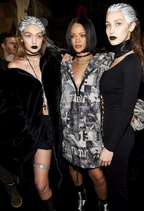 Gigi and Bella Hadid Own the Runway at Rihanna's Fenty x Puma Fashion Show: Photos