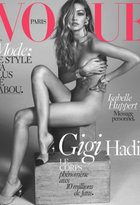 Gigi Hadid Poses Naked for 'Vogue Paris': See the Photo!