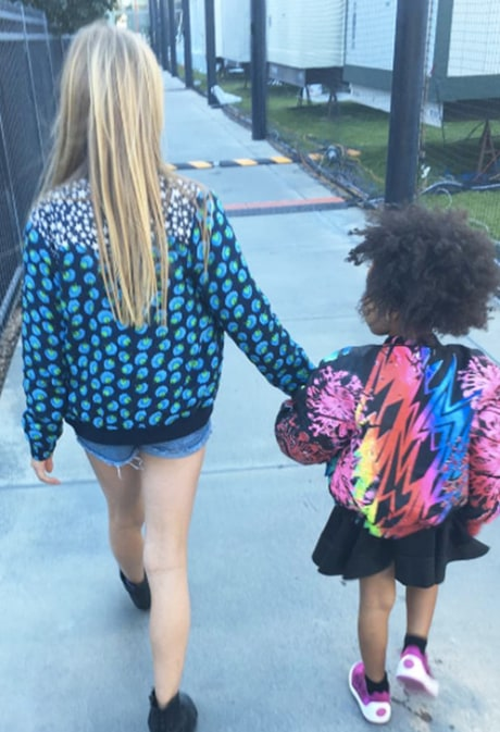 Gwyneth Paltrow Shares Sweet Pic of Daughter Apple and Blue Ivy at Super Bowl 50