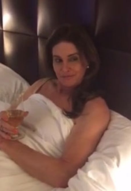 Caitlyn Jenner, Kourtney Kardashian Star as Love Rivals in Kylie Jenner's Snapchat Movie
