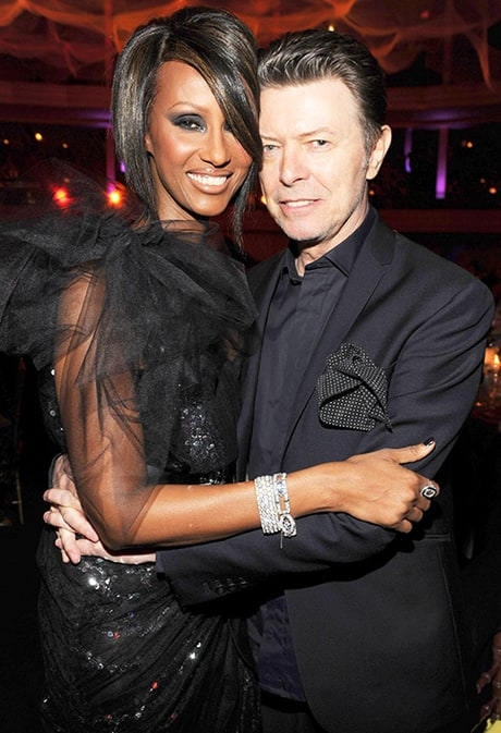 Iman Shares Inspirational Words One Month After Husband David Bowie's Death: 'Each Tear Is a Poet'
