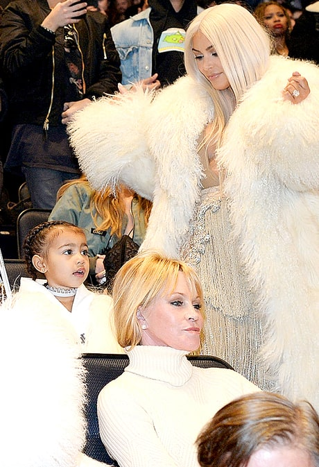 North West Dances Adorably to Kanye West's 'T.L.O.P.' Album With the Kardashians: GIFs