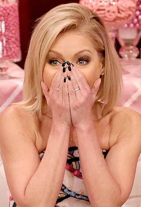Kelly Ripa Cries, Is Surprised by Mark Consuelos and Kids During Her 15th Anniversary of 'Live!'