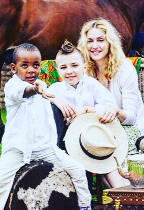 Madonna Shares Heartbreaking Flashback Photo of Son Rocco: 'I Miss This Time'
