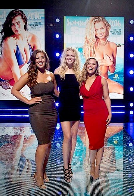 Sports Illustrated Swimsuit Issue 2016 Features Three Cover Models: Ronda Rousey, Ashley Graham and Hailey Clauson