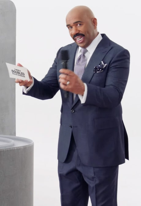 Steve Harvey Admits to 'Big Hesitation' Over T-Mobile Super Bowl Ad: Miss Universe Flap 'Hasn't Been Funny'