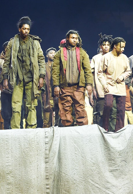 Top Moments at Kanye West's Yeezy Season 3 Show: From Lamar Odom Dancing to Anna Wintour Sitting in Row Three
