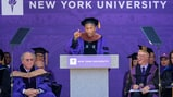 See Pharrell Talk Gender Equality, Education at NYU's Commencement