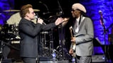 Bono, Nile Rodgers Thrill With U2 Hits at Benefit Concert