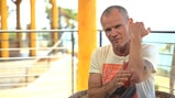 See Flea Show Off Gnarly Snowboarding Wound