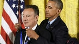 Watch President Obama Award Bruce Springsteen Medal of Freedom