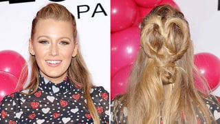 Blake Lively Just Served Up the Cutest Valentine's Day 'Do Ever — See the Details!