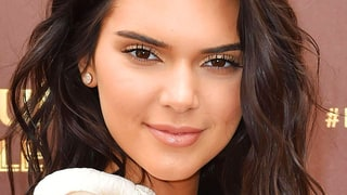 Kendall Jenner's Full Straight Brow