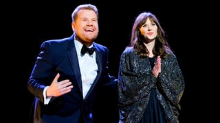 James Corden and Zooey Deschanel Nail Their 'Endless Love' Duet: Watch the Parody!