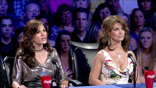 Paula Abdul and Kara Dio Guardi, American Idol