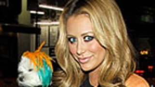 Aubrey O'Day Defends Dyeing Her Dog