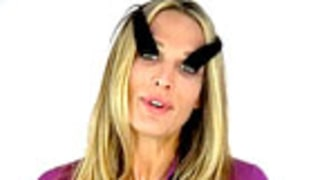 See Molly Sims With Freakishly Long Eyelashes!