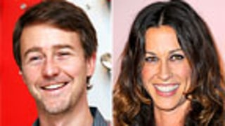 Ed Norton, Alanis Morissette Finish NYC Marathon for Charity