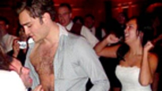 PIC: Ed Westwick Performs Shirtless Striptease at Wedding!