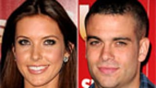 New Couple? Audrina Patridge, Glee Star Connect at Us' Party