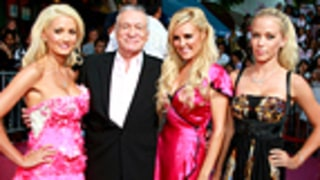 Hef, Holly and Bridget Send Congrats to New Mom Kendra
