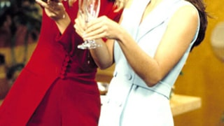 Heather Locklear and Kristin Davis: Then