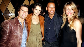 Tom Cruise, Katie Holmes, Alex Rodriguez and Cameron Diaz
