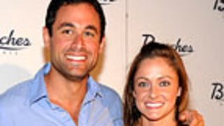 Bachelor's Jason Mesnick and Molly Malaney Wed in Downpour!