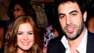 Sacha Baron Cohen, Isla Fisher Wed in Paris