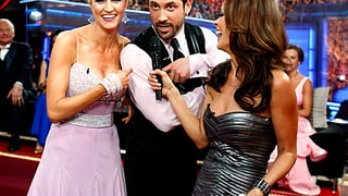 Erin Andrews, Maksim Chmerkovskiy (and Brooke Burke)