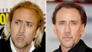 Ack! Nicolas Cage Goes Blonde
