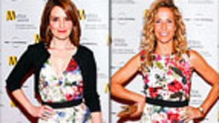 PIC: Sheryl Crow, Tina Fey Arrive to Event in Same Dress!