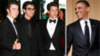 Obama Jokingly Threatens Jonas Brothers With