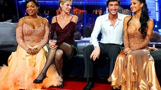 Niecy Nash, Erin Andrews, Evan Lysacek and Nicole Scherzinger